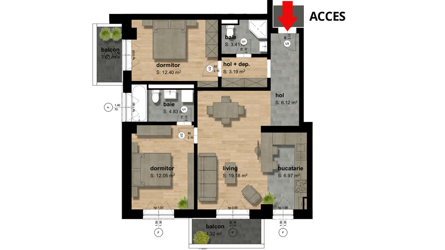 Apartamentul 14