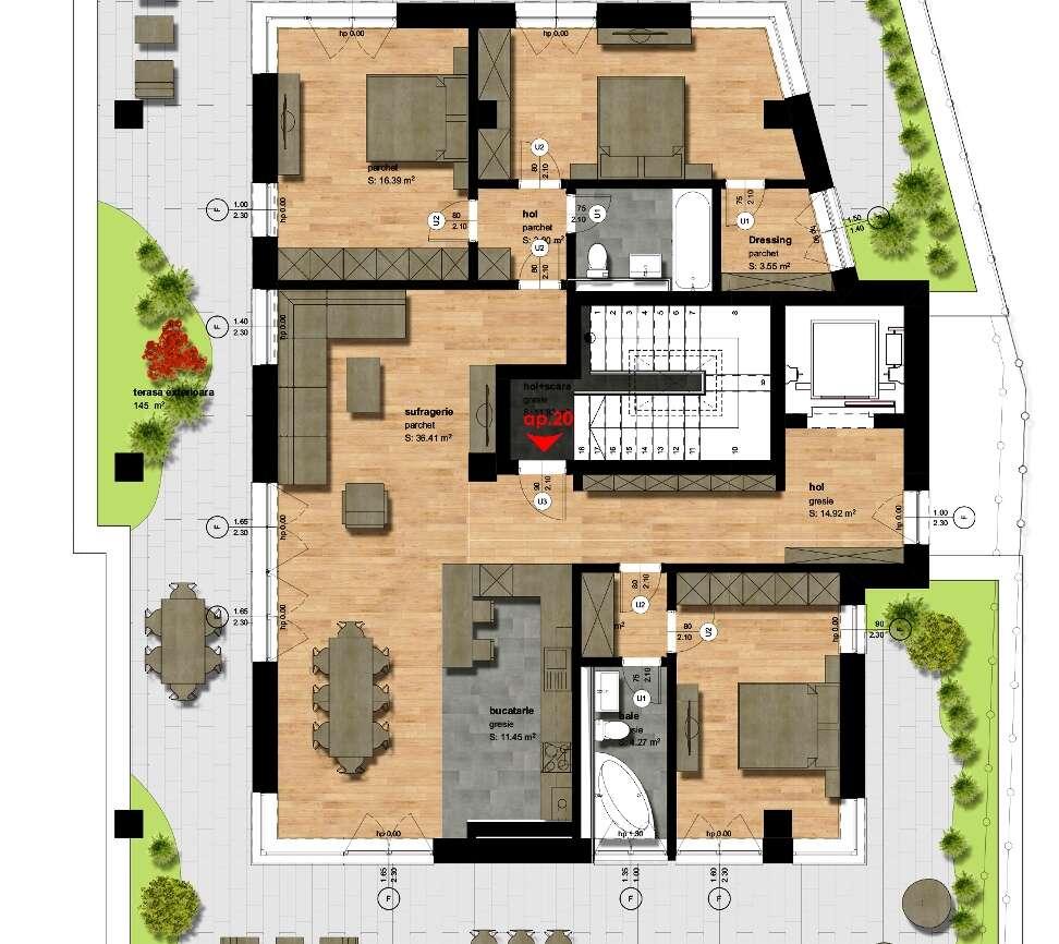 Apartamentul 20 – Penthouse