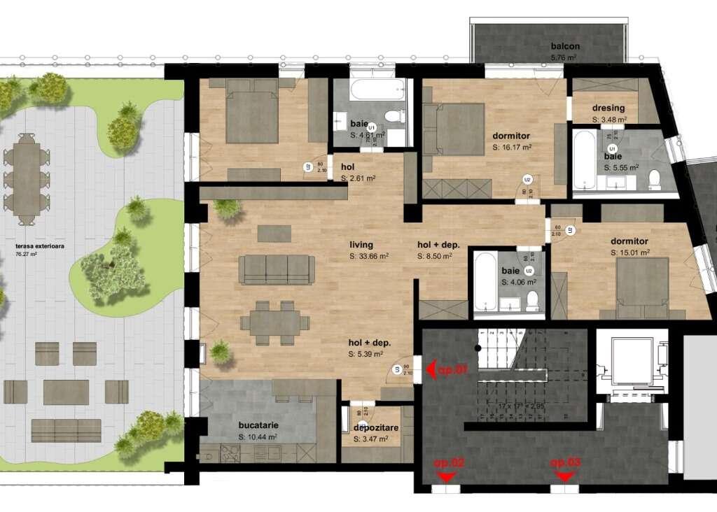 Apartamentul 1